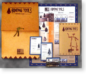 image of hunting tools kit